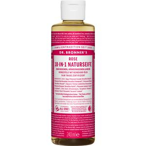 Dr. Bronner's - Body care - Rose 18-in-1 Natural Soap