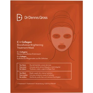 Dr Dennis Gross Skincare - C+Collagen - Biocellulose Bright Mask
