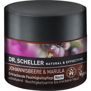 Dr. Scheller - Johannisbeere & Marula - Erfrischende Feuchtigkeitpflege Nacht