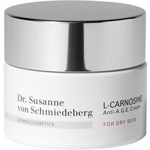 Dr. Susanne von Schmiedeberg - Gesichtscremes - L-Carnosine Anti-A.G.E. Cream für trockene Haut