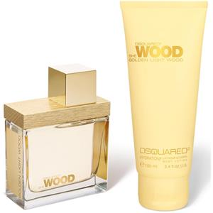 Dsquared² - Golden Light Wood - Geschenkset