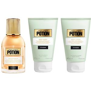 Image of Dsquared² Damendüfte Potion Geschenkset Eau de Parfum Spray 30 ml + Body Wash 30 ml + Body Lotion 30 ml 1 Stk.