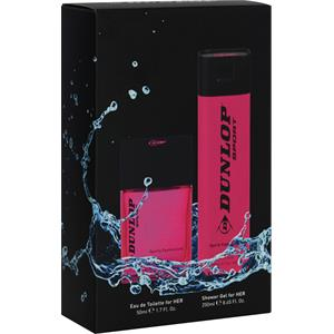 Image of Dunlop Damendüfte Sporty Fashionista Geschenkset Eau de Toilette Spray 50 ml + Shower Gel 250 ml 1 Stk.