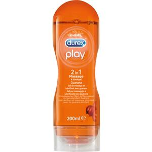 Durex - Gleitgele - Play 2 in 1 Massage & Gleitgel Guarana