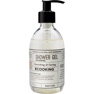 ECOOKING - Cream & Oil - Orange & Lavender & Rose Shower Gel