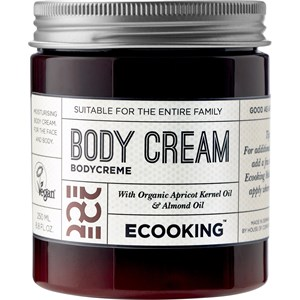 ECOOKING - Cream & Oil - Organic Aprikosenkernöl & Mandelöl Body Cream