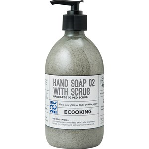 ECOOKING - Hand care - Citrus, Violet & White Pepper Hand Soap 02 With Scrub