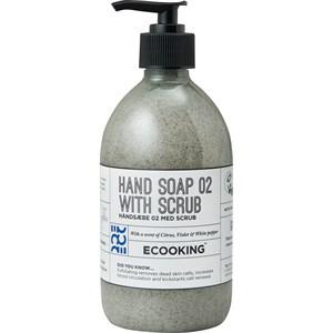 ECOOKING - Handpflege - Citrus, Violet & White Pepper Hand Soap 02 With Scrub