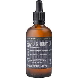 ECOOKING - Herrenpflege - Organic Argan, Sesam & Jojobaöl Beard & Body Oil