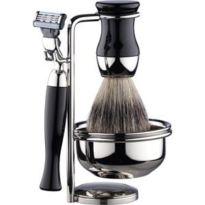 ERBE Shaving Shop Rasiersets Rasierset Gillette Mach3, 4 tlg. Rasierer + Pinsel + Ständer + Rasierseifenschale 1 Stk. 847336