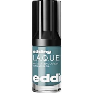 edding Make-up Nägel Greens & BluesL.A.Q.U.E. Nr. 189 Steady Steel Blue