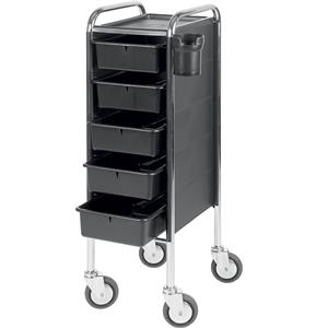 Efalock Professional - Work Trolleys - Piccolo 84/5 Work Trolley Large Wheels