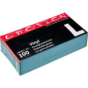 Efalock Professional - Kulutusmateriaali - Emotion-vinyylikäsineet L