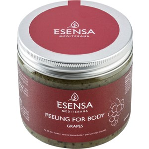 Esensa Mediterana - Body Essence - for smooth and firm body skin - Body Peeling Traube