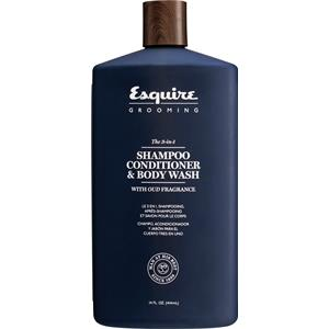 Esquire Grooming - Hair care and beard grooming - The 3-in-1 Shampoo, Conditioner & Bodywash