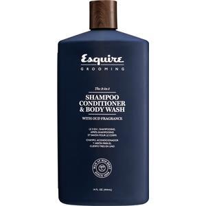 Esquire Grooming - Haar- und Bartpflege - The 3-in-1 Shampoo, Conditioner & Bodywash