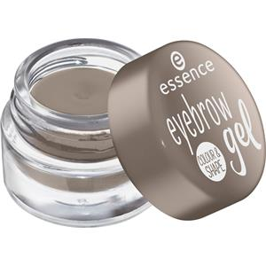 Image of Essence Augen Augenbrauen Eyebrow Gel Colour & Shape Nr. 01 Brown 3 g