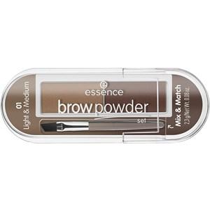 Essence - Augenbrauen - Eyebrow Powder Set