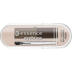 Image of Essence Augen Augenbrauen Eyebrow Stylist Set Nr. 01 Natural Brunette Style 2 g