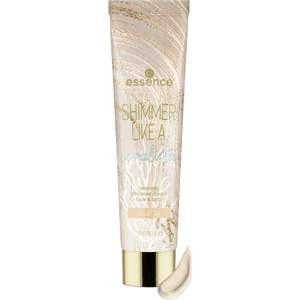 Essence - Bronzer - Shimmer Like a Coralista Face & Body Bronzing Shimmer Cream