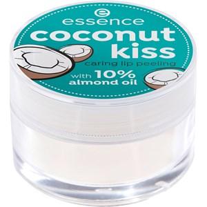 Essence - Lipstick & Lipgloss - Coconut Kiss Caring Lip Peeling