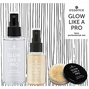 Essence - Meikit - Glow like a Pro - Gold Trigger Face Perfectionist Set