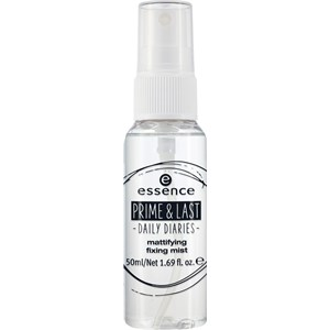 Essence - Make-up - Prime & Last -Daily Diaries- Mattifying Fixing Mist