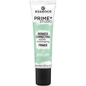 Essence - Primer - Prime+ Studio Redness Correcting + Pore Minimizing Primer