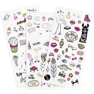 Essence - Make-up -  Tattoo You Body Tattoos Doodle Bomb Get Your Glitter On!