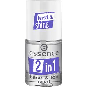 Essence - Nail polish - 2 in 1 Base & Top Coat