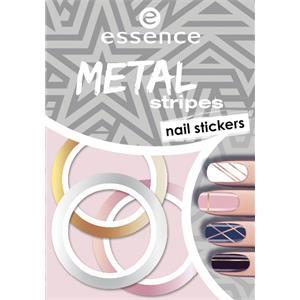 Essence - Nagellack - Metal Stripes Nail Stickers