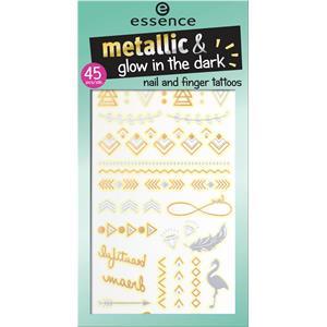 Essence - Nagellack -  Nail And Finger Tattoos Metallic & Glow In The Dark