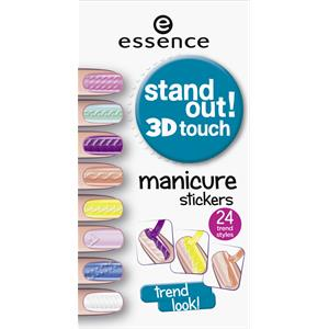 nagellack stand out 3d touch manicure stickers von essence parfumdreams. Black Bedroom Furniture Sets. Home Design Ideas