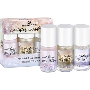 Essence - Nagellack - Winter Wonders Nail Polish & Top Coat Set