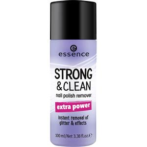 Essence - Nail care - Strong & Clean Nail Polish Remover