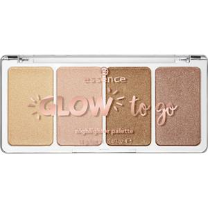 Essence - Highlighter - Glow To Go Highlighter Palette