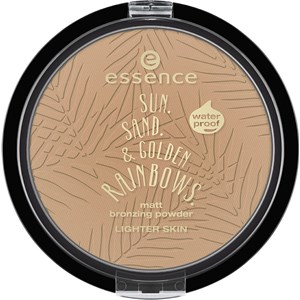 Essence - Powder & Rouge - Sun. Sand. & Golden Rainbows.  Matt Bronzing Powder Waterproof