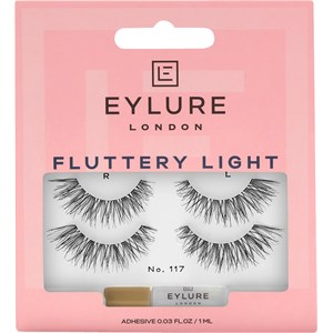 Eylure - Wimpern - Wimpern Fluttery Light Nr. 117 Duo Pack