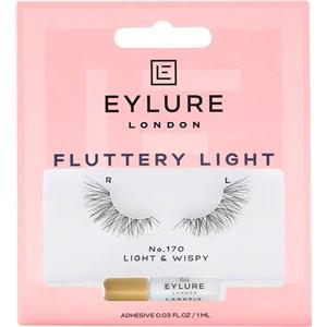 Eylure - Wimpern - Wimpern Fluttery Light Nr. 170