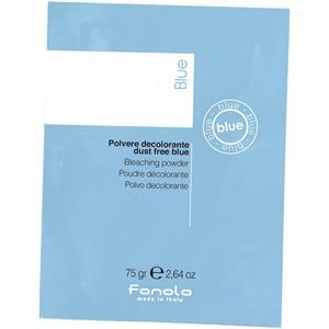 Image of Fanola Farbveränderung Blondierung Blondierpulver Staubfrei Beutel Blau 75 g