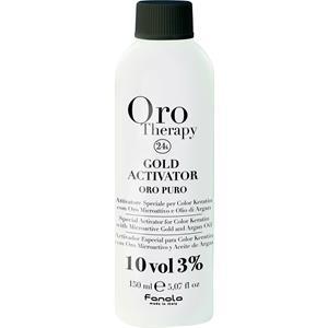Fanola - Haarfarbe und Haartönung - Oro Therapy Oro Puro Gold Activator 3%