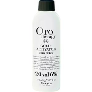 Fanola - Tinte per capelli e riflessanti - Oro Therapy Oro Puro Gold Activator 6%
