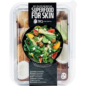 Farmskin - Masken - Superfood For Skin Maskenset Coconut