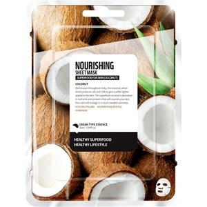 Farmskin - Masks - Superfood For Skin Nourishing Sheet Mask Coconut