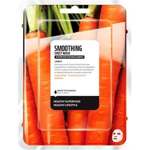 Farmskin - Masks - Superfood For Skin Smoothing Sheet Mask Carrot