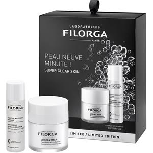 Image of Filorga Pflege Essentials Clean & Radiant Set Scrub & Mask 55 ml + Anti-Ageing Micellar Solution 50 ml 1 Stk.