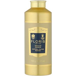 Floris London - Soulle Ámbar - Soothing Talc With Aloe Vera