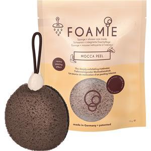Foamie - Shower care - Mocca Peel Sponge + Shower Care Inside