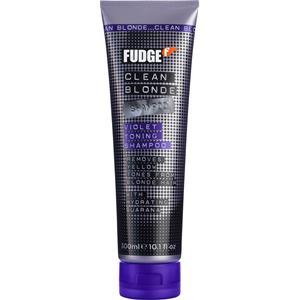 Image of Fudge Haarpflege Clean Blonde Violet Toning Shampoo 1000 ml