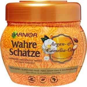 GARNIER - Wahre Schätze - Argan- & Camelia-Öl Tiefenpflege-Maske